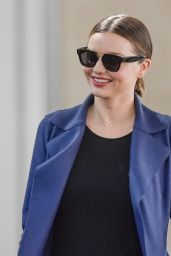 Miranda Kerr Travel Outfit - Charles de Gaulle Airport in Paris 5/21/2016