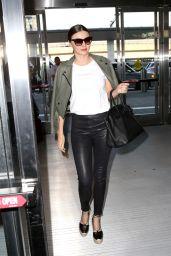 Miranda Kerr Travel Outfit - JFK Airport in New York 5/25/2016