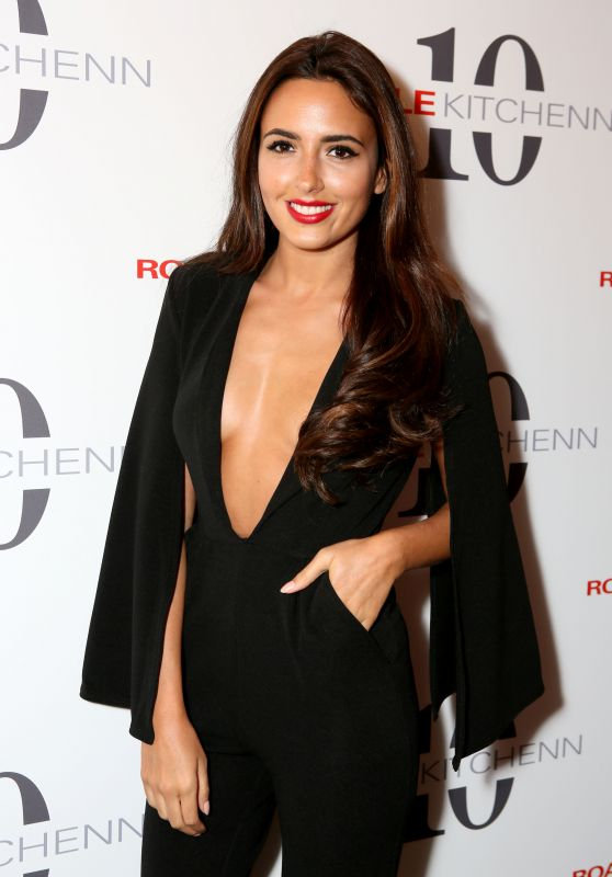 Nadia Forde - 10 Years of Cole Kitchenn Personal Management Party in London, May 2016