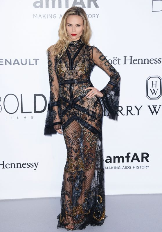 Natasha Poly – amfAR's Cinema Against AIDS Gala in Cap d'Antibes, France, 5/19/2016