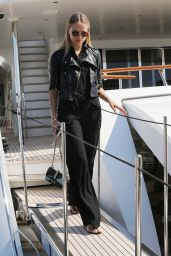 Natasha Poly at the Port of Cannes - Cannes Film Festival 5/16/2016
