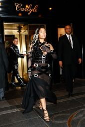 Nicki Minaj - Leave the The Carlyle Hotel En Route to The Met Gala in New York 5/2/2016