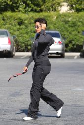Nicole Murphy - Leaves Bristol Farms Grocery Store in West Hollywood 5/2/2016