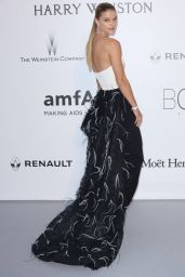 Nina Agdal – amfAR's Cinema Against AIDS Gala in Cap d'Antibes, France, 5/19/2016