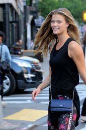 Nina Agdal Street Style - Out in New York City 5/12/2016