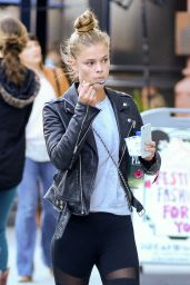 Nina Agdal Urban Style - Out in New York City 5/16/2016