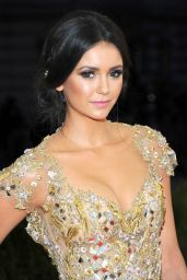 Nina Dobrev – Met Costume Institute Gala 2016 in New York