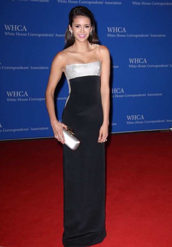 Nina Dobrev – White House Correspondents' Dinner in Washington DC 4/30/2016