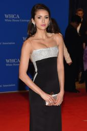 Nina Dobrev – White House Correspondents' Dinner in Washington DC 4/30/2016