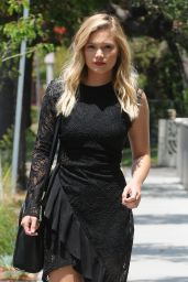 Olivia Holt Classy Street Fashion - Out in Los Angeles 5/17/2016
