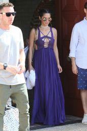 Olivia Munn and Aaron Rodgers - Leaving Joel Sliver