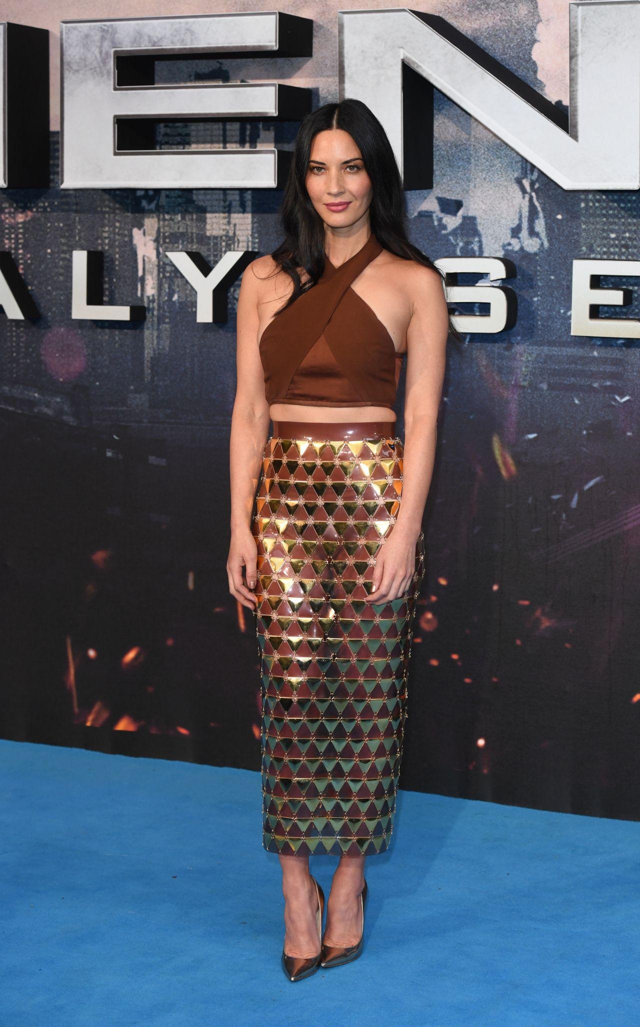 Olivia Munn X Men Apocalypse Premiere In London Uk 5 9