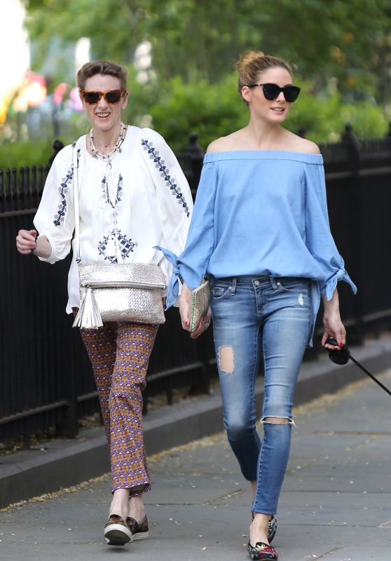 Olivia Palermo and Her Mom Lynn - Out in NYC 5/28/2016