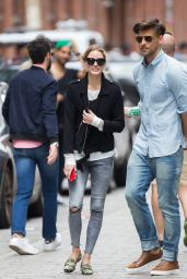 Olivia Palermo Street Style - Out in NYC 5/14/2016