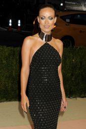 Olivia Wilde – Met Costume Institute Gala 2016 in New York