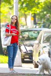 Olivia Wilde Street Style - Out in New York City, May 23 2016