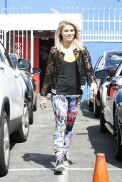 Paige VanZant - After Practice in Hollywood 4/30/2016