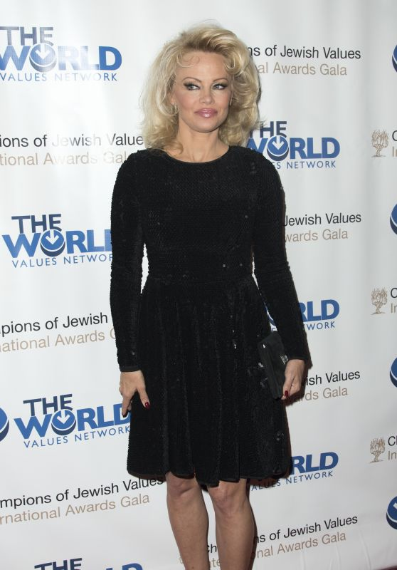 Pamela Anderson - Jewish Values International Awards Gala in New York 5/5/2016
