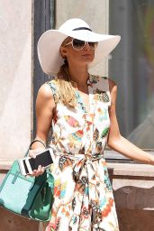 Paris Hilton Summer Outfit Ideas - Out in Cannes, France 5/19/2016