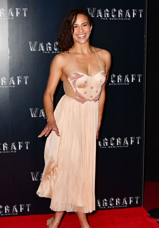 Paula Patton - Universal's New Action Adventure Warcraft, The Beginning Screening in London 5/25/2016