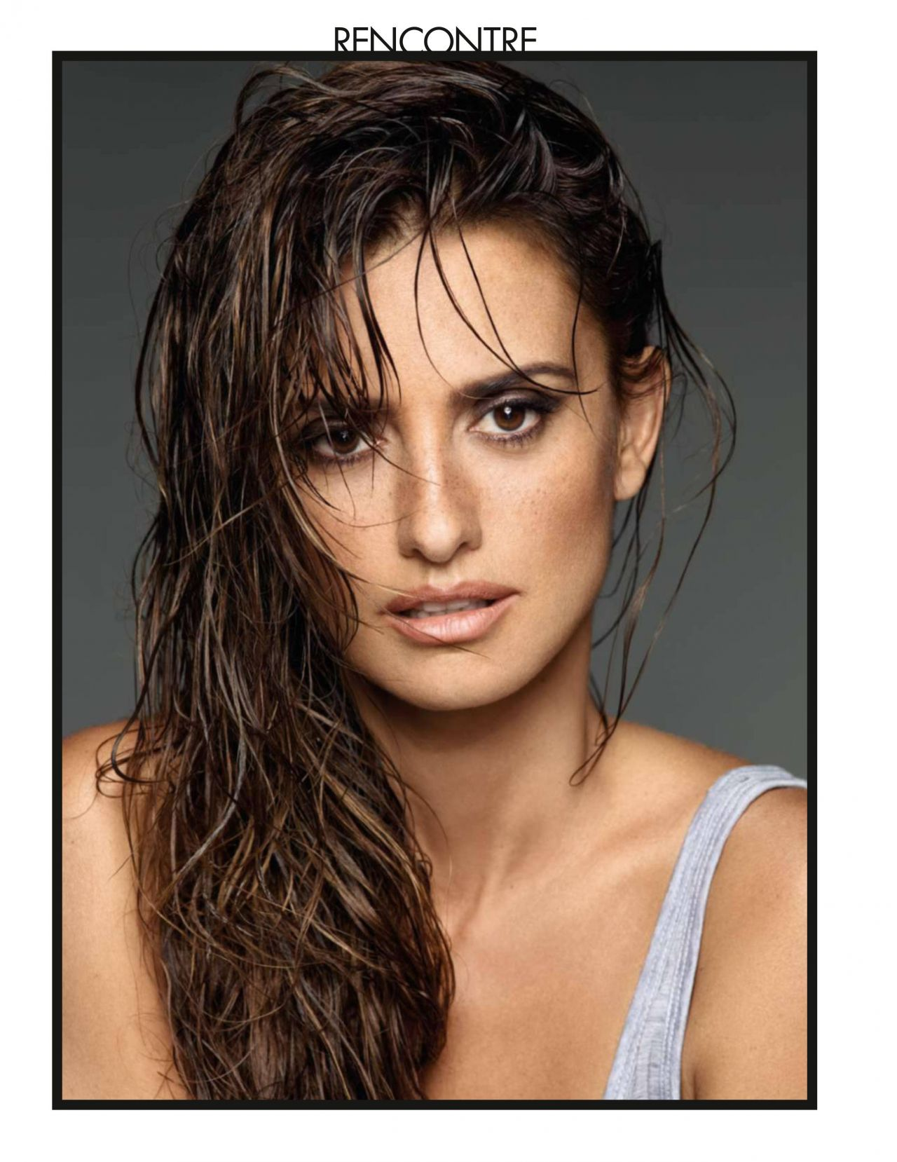 Penelope Cruz Elle Magazine France May 2016 Issue