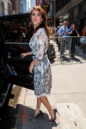Penelope Cruz Style Inspiration - Leaving ABC Studios i n New York City 5/23/2016