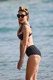 Petra Nemcova Bikini Photos - on the Beach in Cannes 5/18/2016