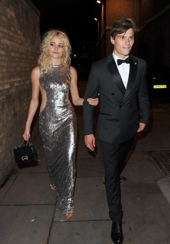 Pixie Lott Classy Fashion - at M&S Summer Balll in London 5/17/2016