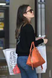 Rachel Bilson Urban Outfit - After Shopping at Nordstrom Los Angeles, 5/23/2016
