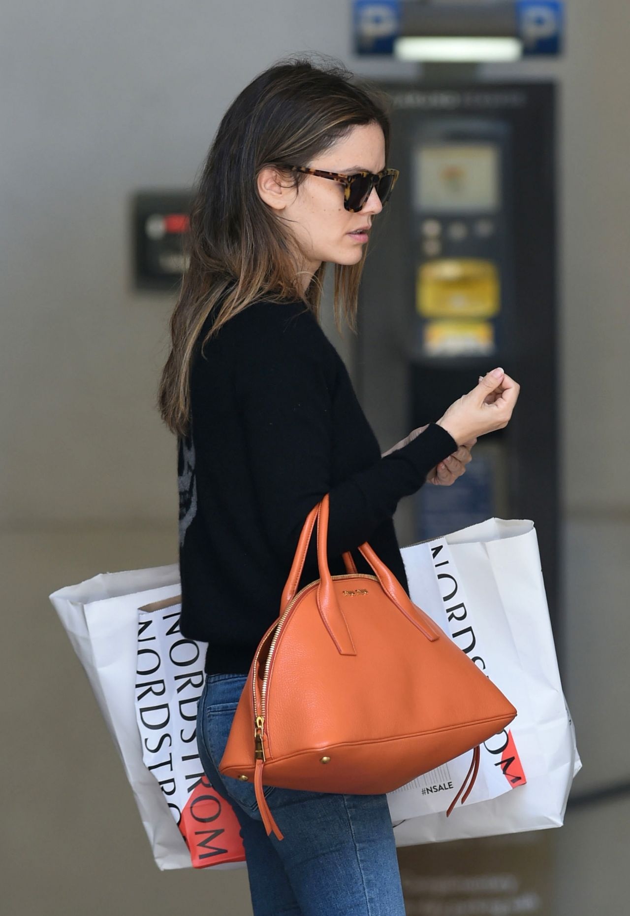 Rachel Bilson Urban Outfit After Ping At Nordstrom Los Angeles 5 23 2017