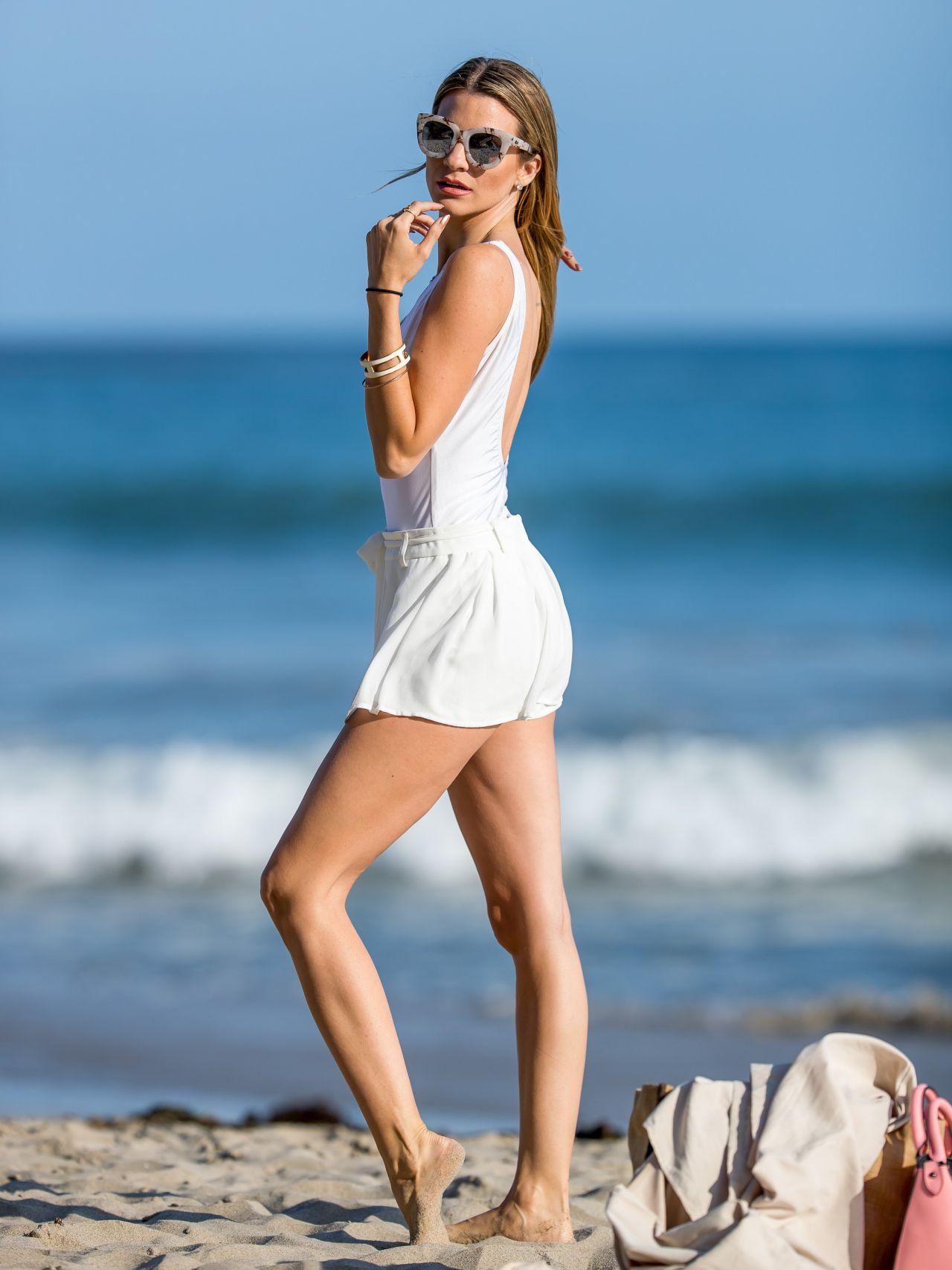 Rachel Mccord In A Bikini At The Beach In Los Angeles 5
