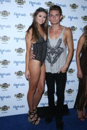 Raquel Leviss in Swimsuit - REHAB at the Hard Rock Hotel and Casino in Las Vegas 5/30/2016