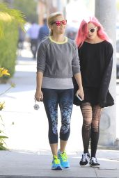 Reese Witherspoon and Ava Phillippe - Out in Santa Monica 5/3/2016