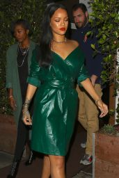 Rihanna Night Out Style - Leaving Dinner at Giorgio Baldi in Santa Monica 5/8/2016