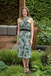 Rosamund Pike - 2016 RHS Chelsea Flower Show in London, UK 5/23/2016