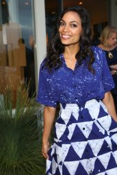 Rosario Dawson - Yoox x Studio 189 Party in Los Angeles 5/11/2016