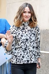 Rose Byrne - Doing Press in New York City 5/20/2016