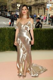 Rose Byrne – Met Costume Institute Gala 2016 in New York