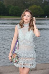 Rosie Fortescue – Taylor Morris Launch Party at Serpentine Lido in Hyde Park in London 5/11/2016