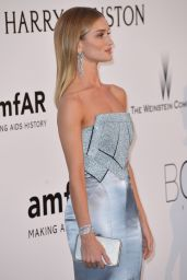 Rosie Huntington-Whiteley – amfAR's Cinema Against AIDS Gala in Cap d'Antibes, France, 5/19/2016