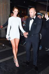 Rosie Huntington-Whiteley and Jason Statham - Leaving a Met Gala After Party in New York 5/2/2016
