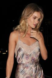 Rosie Huntington-Whiteley - Leaving The M&S Summer Ball in London 5/17/2016