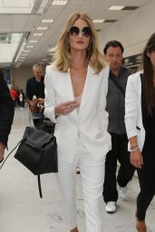 Rosie Huntington-Whiteley Spring Ideas - at Nice Airport in Cannes 5/18/2016