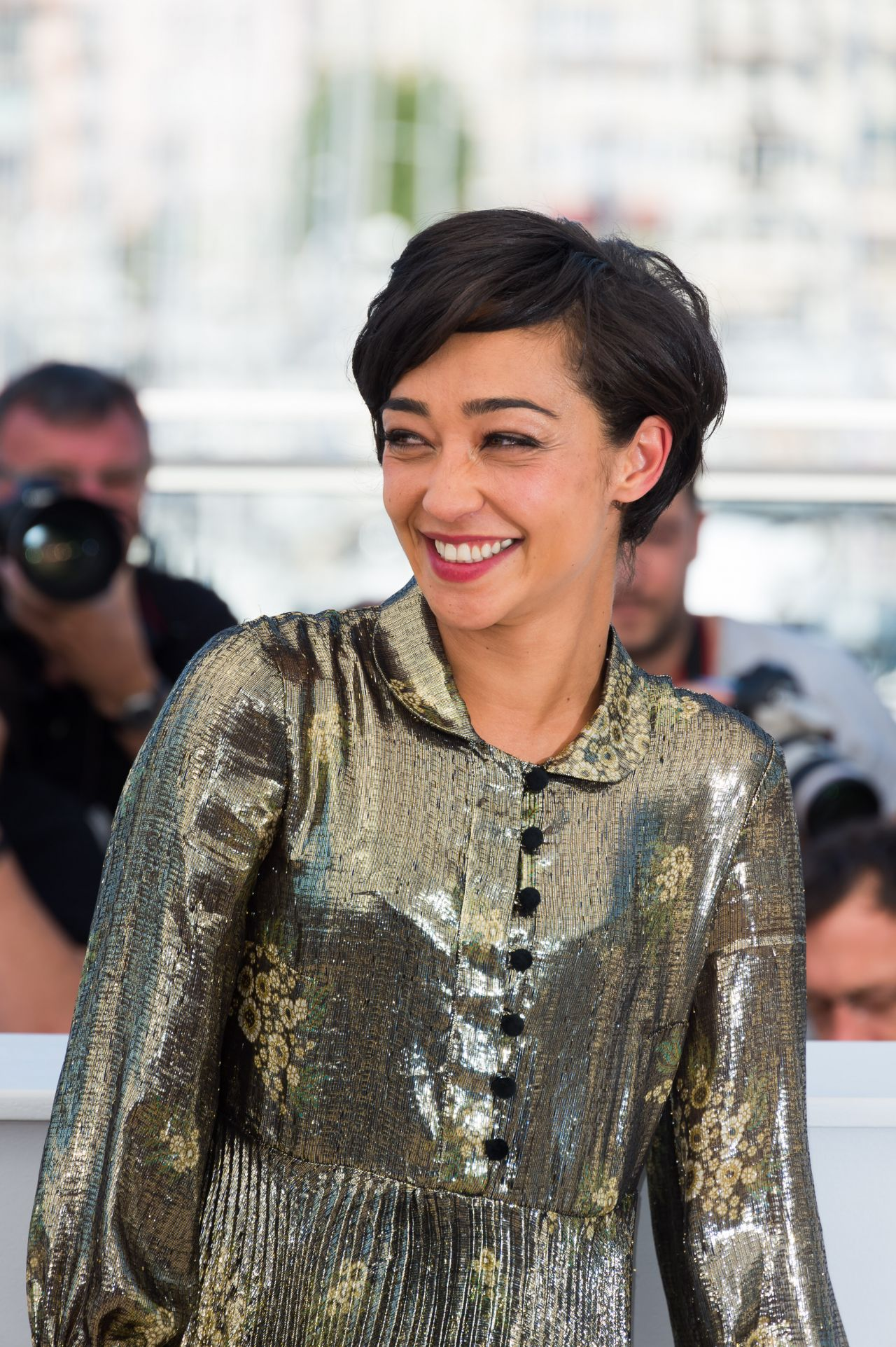 Ruth Negga Is Met Best Dressed 2017 Lainey: 'Loving' Photocall At Cannes Film Festival 5