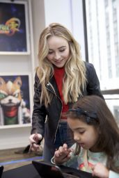 Sabrina Carpenter - Disney Art Academy Event in New York City, May 2016