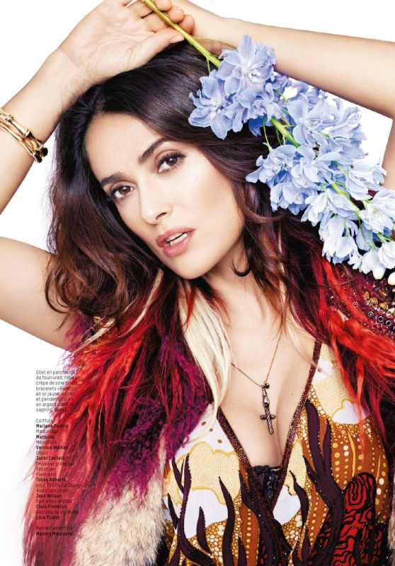 Salma Hayek - L'Officiel Magazine Switzerland June 2016 Issue