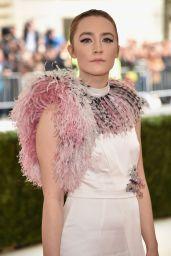Saoirse Ronan - 2016 Costume Institute Met Gala in New York