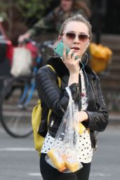 Saoirse Ronan Casual Style - Out in New York City 5/9/2016