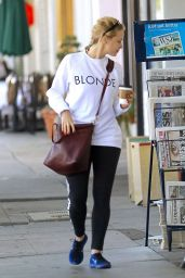 Sara Gadon Street Style - Out in LA 5/2/2016
