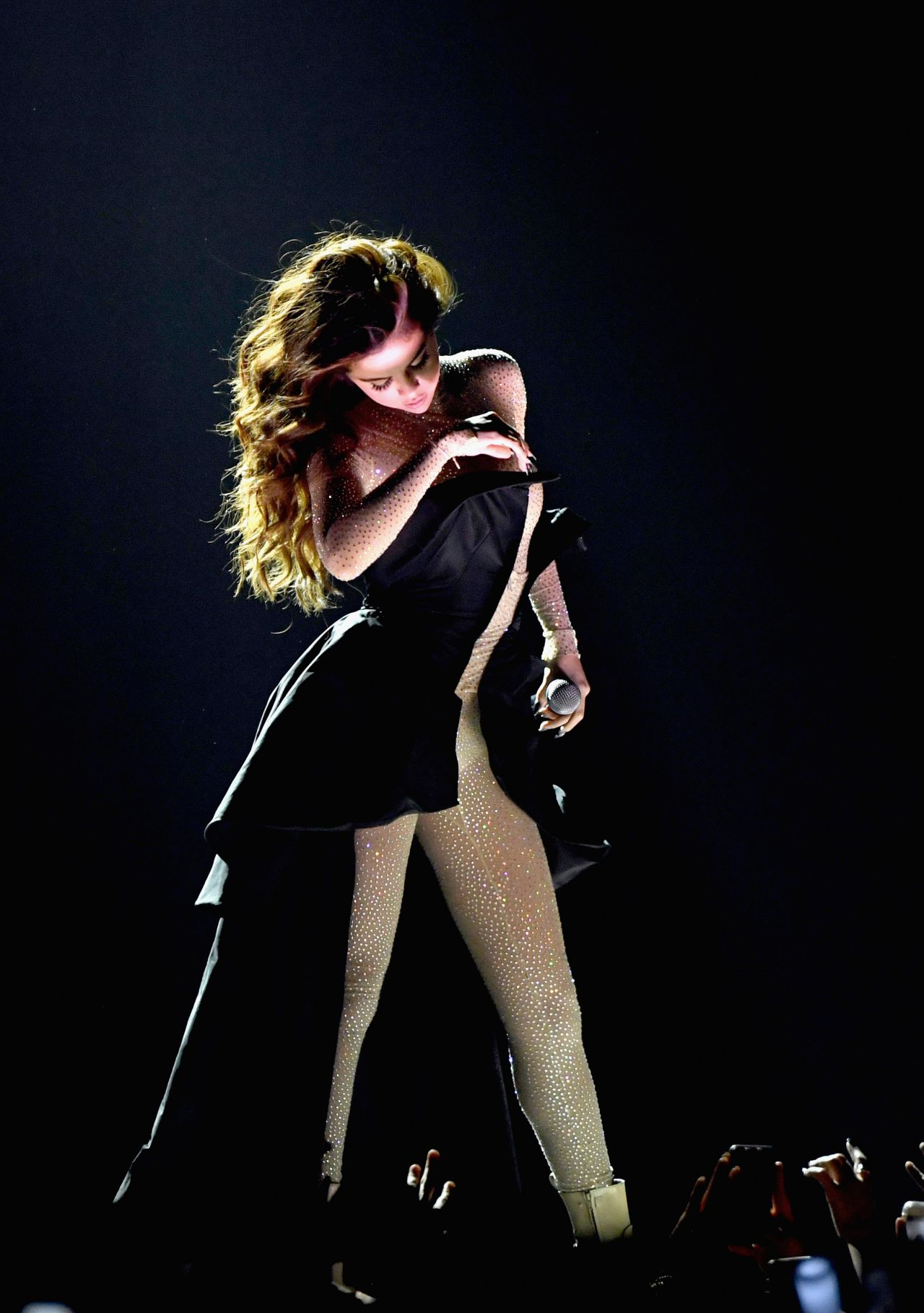 Selena Gomez Performing At The Revival World Tour At